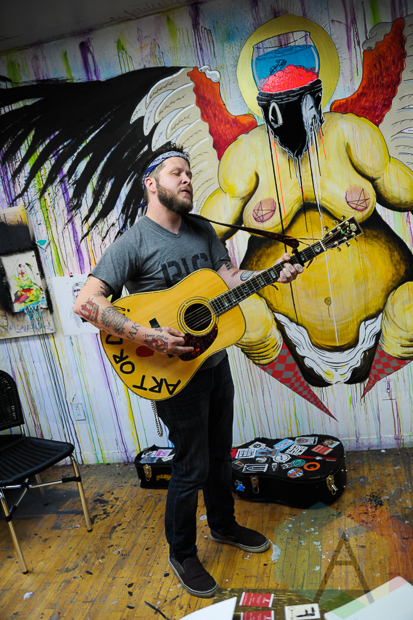 Shane Sweeney (of Two Cow Garage). (Photo: Stephen McGill/Aesthetic Magazine Toronto)