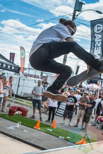 Skate park at Amnesia Rockfest 2014. (Photo: Scott Penner/Aesthetic Magazine Toronto)