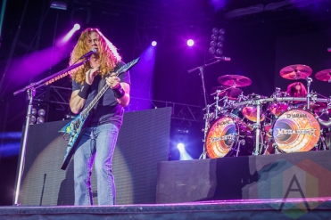 Megadeth. (Photo: Scott Penner/Aesthetic Magazine Toronto)