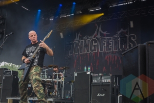 Dying Fetus. (Photo: Scott Penner/Aesthetic Magazine Toronto)