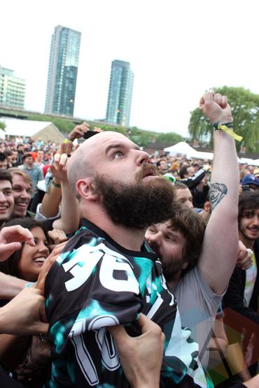 Fucked Up. (Photo: Curtis Sindrey/Aesthetic Magazine Toronto)