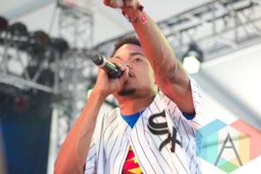 Chance The Rapper. (Photo: Ashley Gheerawo/Aesthetic Magazine Toronto)