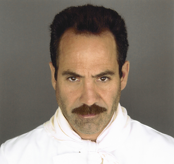 """Veteran actor Larry Thomas, who is best known as """"The Soup Nazi"""" from Seinfeld."""