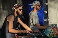 Martinez Brothers at Electric Island. (Photo: Brandon Lorenzetti/Aesthetic Magazine Toronto)