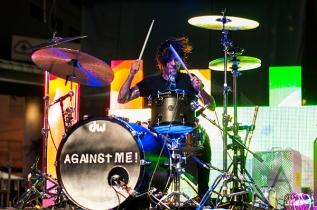 Against Me. (Photo: Krystle Merrow/Aesthetic Magazine Toronto)