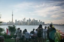 Electric Island. (Photo: Geoff Fitzgerald/Aesthetic Magazine Toronto)