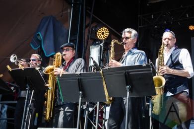 Texas Horns, w/ The Split. (Photo: Scott Penner/Aesthetic Magazine Toronto)