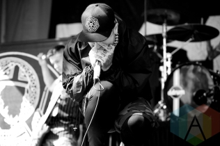 Suicide Silence. (Photo: Matt Klopot/Aesthetic Magazine Toronto)