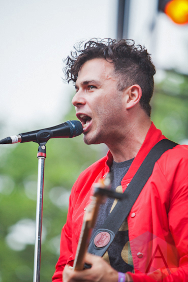 Arkells. (Photo: Lauren Garbutt/Aesthetic Magazine Toronto)