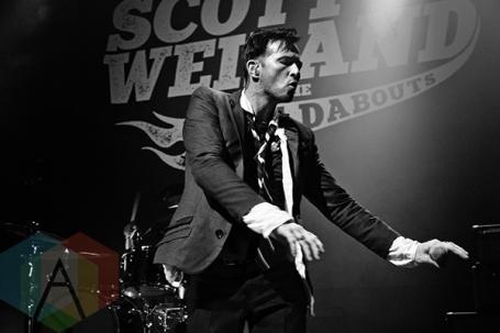 Scott Weiland. (Photo: Adam Harrison/Aesthetic Magazine Toronto)