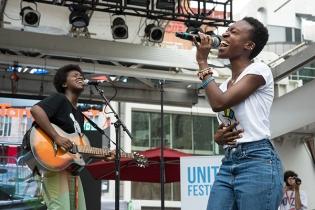 Renee Henry at Unity Festival 2014. (Photo: Morgan Hotston/Aesthetic Magazine Toronto)