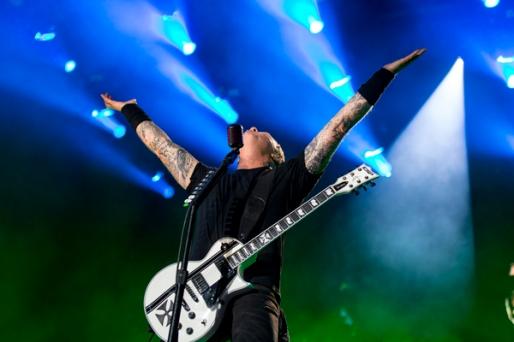 Metallica. (Photo: Tim Snow)