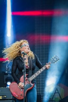 Nashville Pussy. (Photo: Scott Penner/Aesthetic Magazine Toronto)