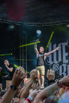 We Came As Romans. (Photo: Scott Penner/Aesthetic Magazine Toronto)