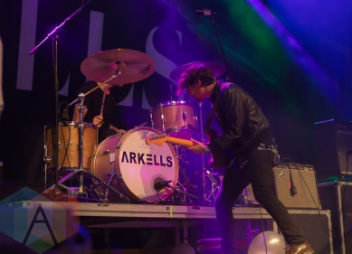 Arkells. (Photo: Fernando Paiz/Aesthetic Magazine Toronto)