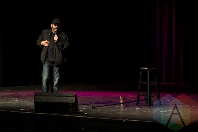 Dave Attell. (Photo: Morgan Hotston/Aesthetic Magazine Toronto)