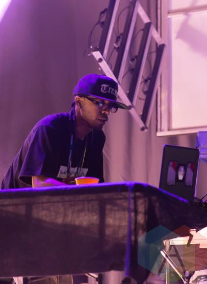 DJ Spinn. (Photo: Fernando Paiz/Aesthetic Magazine Toronto)