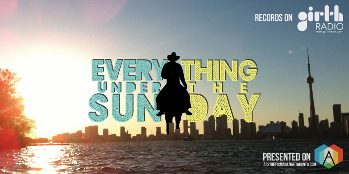 Everything Under The Sunday bring you one day closer to the weekend.