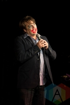 Roger Bainbridge at the New Faces of Comedy: Toronto Showcase. (Photo: Morgan Hotston/Aesthetic Magazine Toronto)
