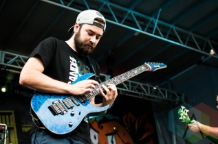 Protest The Hero. (Photo: Josh Friesen/Aesthetic Magazine Toronto)