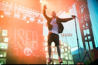 The Used. (Photo: Katie Kuropas/Aesthetic Magazine Toronto)