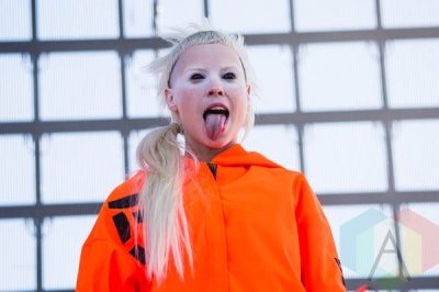 Die Antwoord. (Photo: Katie Kuropas/Aesthetic Magazine)