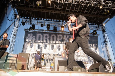 Dropkick Murphys. (Photo: Katie Kuropas/Aesthetic Magazine Toronto)