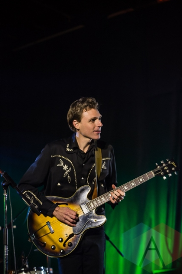 Joel Plaskett Emergency. (Photo: Scott Penner/Aesthetic Magazine Toronto)