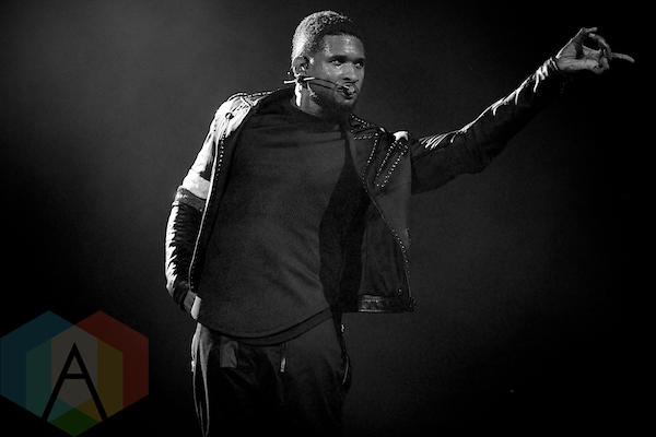 Usher. (Photo: Matt Klopot/Aesthetic Magazine Toronto)