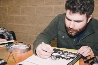 Clayton Cowles at Toronto ComiCon 2014. (Photo: Rick Clifford/Aesthetic Magazine Toronto)