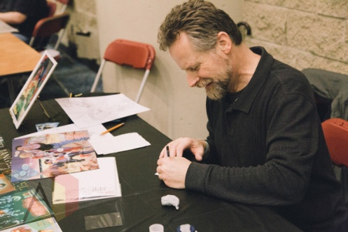 Dave Ross at Toronto ComiCon 2014. (Photo: Rick Clifford/Aesthetic Magazine Toronto)