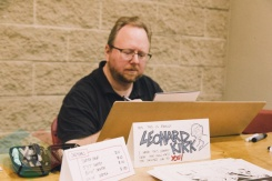 Leonard Kirk at Toronto ComiCon 2014. (Photo: Rick Clifford/Aesthetic Magazine Toronto)