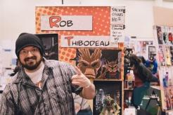 Rob Thibodeau at Toronto ComiCon 2014. (Photo: Rick Clifford/Aesthetic Magazine Toronto)
