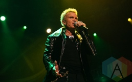 Billy Idol. (Photo: Jade Park/Aesthetic Magazine Toronto)