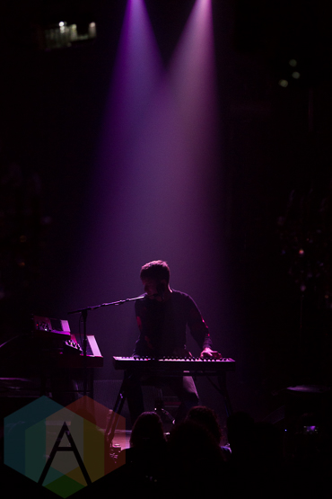 James Blake. (Photo: Dianna Lee/Aesthetic Magazine Toronto)