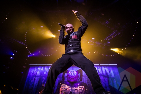 Slipknot. (Photo: Dale Benvenuto/Aesthetic Magazine Toronto)