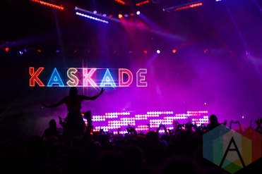 Kaskade at Solaris Festival. (Photo: Brandon Lorenzetti/Aesthetic Magazine Toronto)