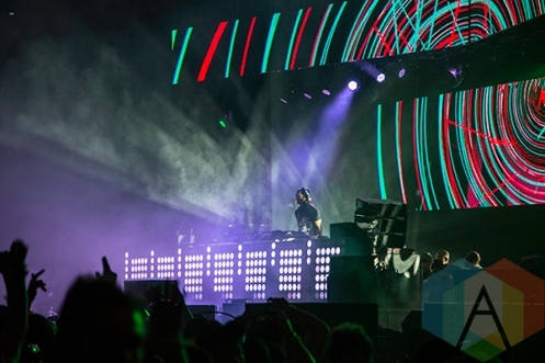 Steve Aoki at Solaris Festival. (Photo: Brandon Lorenzetti/Aesthetic Magazine Toronto)