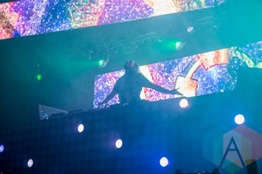 Steve Aoki at Solaris Festival. (Photo: Brandon Lorenzetti/Aesthetic Magazine Toronto)