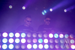 Melvin & Klein at Solaris Festival. (Photo: Brandon Lorenzetti/Aesthetic Magazine Toronto)