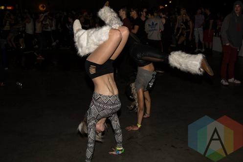 Solaris Festival. (Photo: Brandon Lorenzetti/Aesthetic Magazine Toronto)