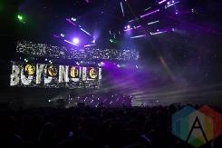 Boys Noize at Solaris Festival. (Photo: Brandon Lorenzetti/Aesthetic Magazine Toronto)