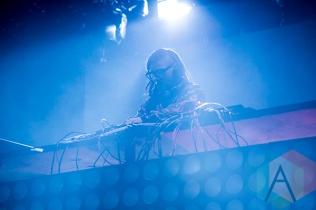 Skrillex at Solaris Festival. (Photo: Brandon Lorenzetti/Aesthetic Magazine Toronto)