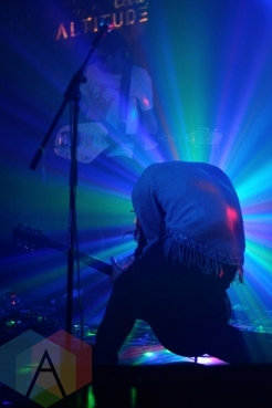The Auras performing at The Silver Dollar in Toronto, ON on April 24th, 2015. (Photo: Steve Danyleyko/Aesthetic Magazine Toronto)