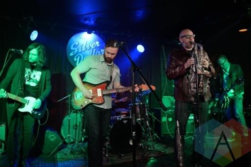 Autumn Stones performing at The Silver Dollar in Toronto, ON on April 24th, 2015. (Photo: Steve Danyleyko/Aesthetic Magazine Toronto)