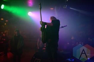 Las Venus Skyway performing at The Silver Dollar in Toronto, ON on April 24th, 2015. (Photo: Steve Danyleyko/Aesthetic Magazine Toronto)