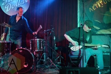 Night Goose performing at The Silver Dollar in Toronto, ON on April 24th, 2015. (Photo: Steve Danyleyko/Aesthetic Magazine Toronto)