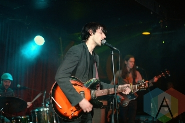 Spoofs performing at The Silver Dollar in Toronto, ON on April 24th, 2015. (Photo: Steve Danyleyko/Aesthetic Magazine Toronto)