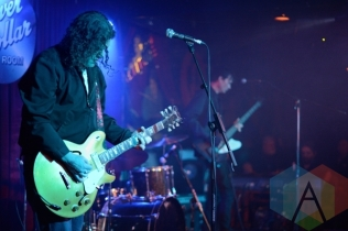 Sunnhouse performing at The Silver Dollar in Toronto, ON on April 24th, 2015. (Photo: Steve Danyleyko/Aesthetic Magazine Toronto)