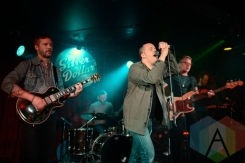 The Two Koreas performing at The Silver Dollar in Toronto, ON on April 24th, 2015. (Photo: Steve Danyleyko/Aesthetic Magazine Toronto)
